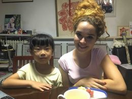 Tereza and her Homestay Sister