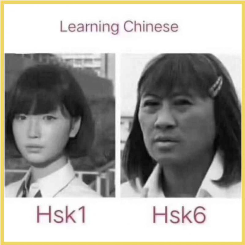 Chinese Memes: HSK 1 to HSK 6 - it's a long but fruitful path!