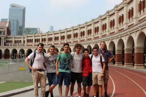 Group trip to Tianjin