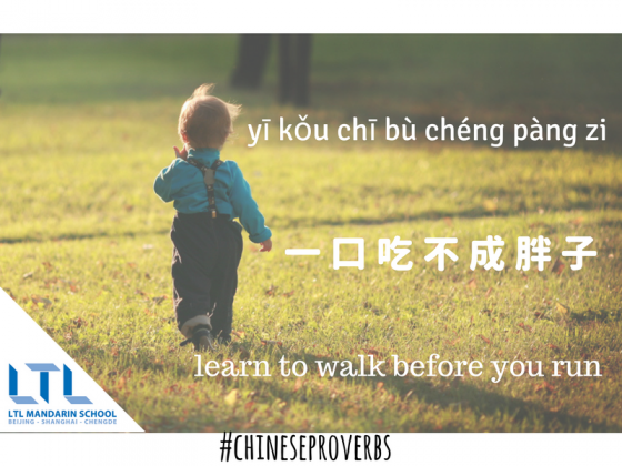 Learn Chinese Proverbs - LTL Mandarin School