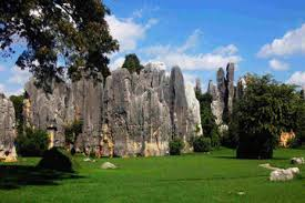 "Shilin (""Stone Forest"") karst rock formation, near Kunming, Yunnan province, China"