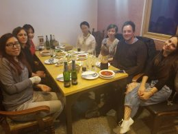 LTL Beijing Staff enjoying Dinner