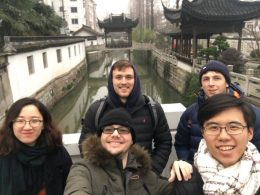 Day trip for Team Shanghai