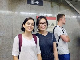Taking the Metro in Shanghai
