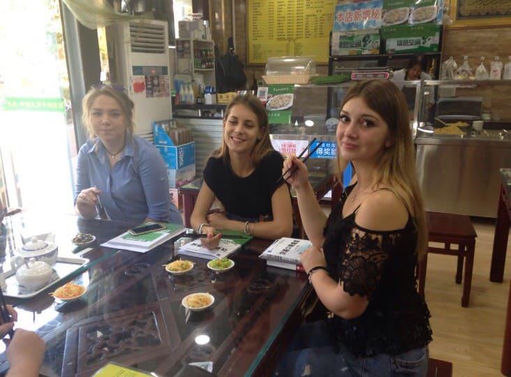 Cristina Azzimonti & Annalisa Peruzzo at welcome breakfast