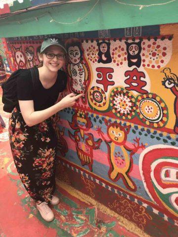 Amanda travelling Taipei
