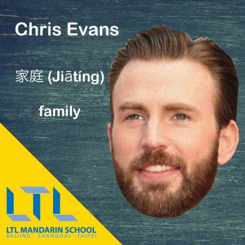 Chris Evans Chinese Tattoo
