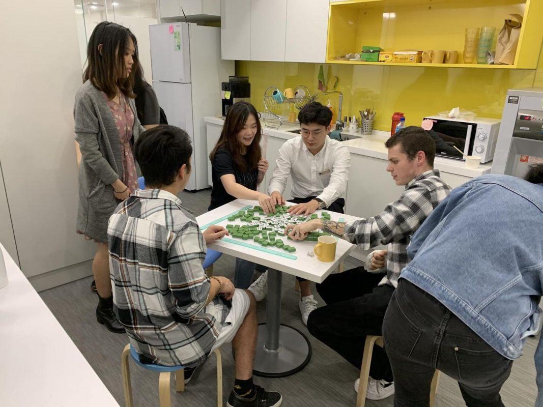 Playing Mahjong with the LTL Teachers