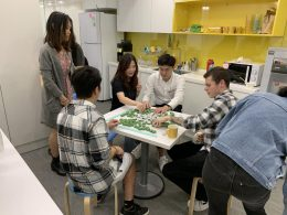 Playing Mahjong with the LTL Teachers