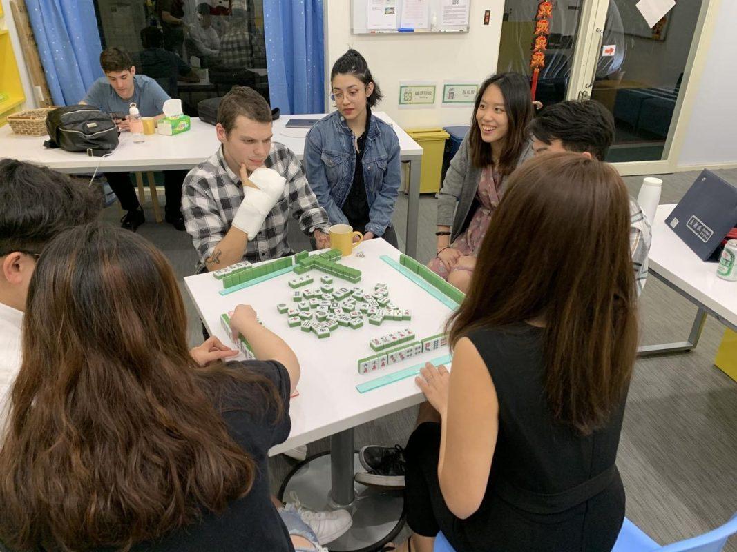 Learning to play Mahjong