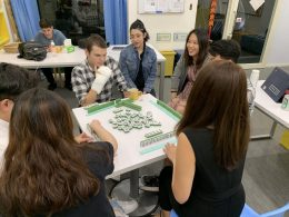 Learning to play Mahjong