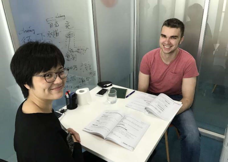 One on One class in Shanghai