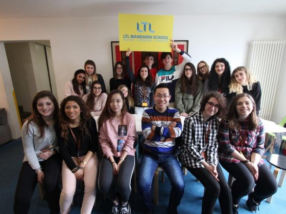 Team LTL! Our high school class from Italy