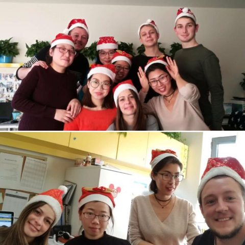 Daniela with LTL Students and Staff before Christmas