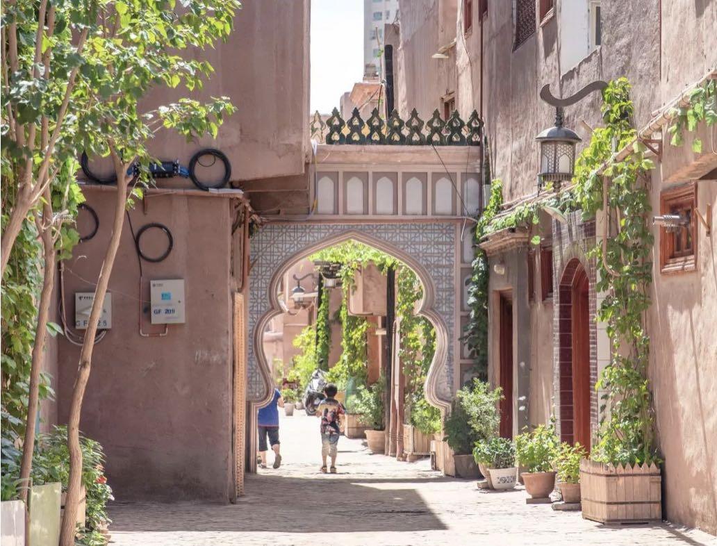 """Kashgar Old Town in """"Kite Runner"""""""