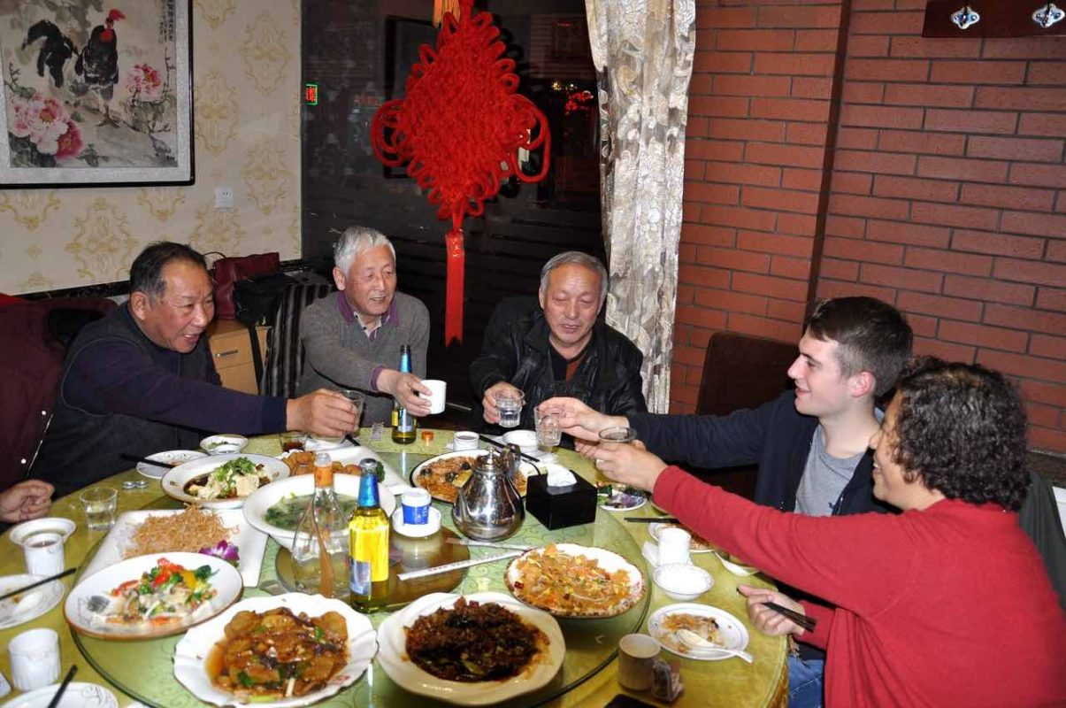 How to Learn Mandarin - Dinner with the homestay