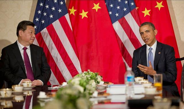 Xi Jinping and Obama