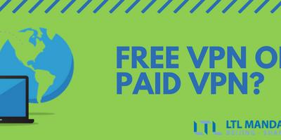 Free VPN vs. Paid VPN Services