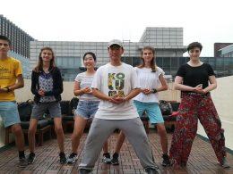 Activities on the Beijing Rooftop