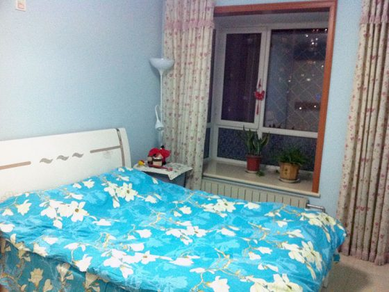 Host Family bedroom in Shanghai