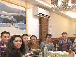 Wednesday night dinner for LTL Shanghai