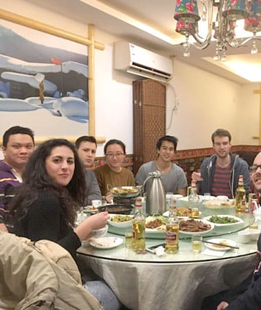 Wednesday night dinner for LTL Shanghai