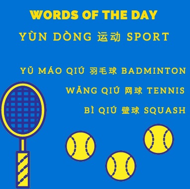 Sports in Chinese