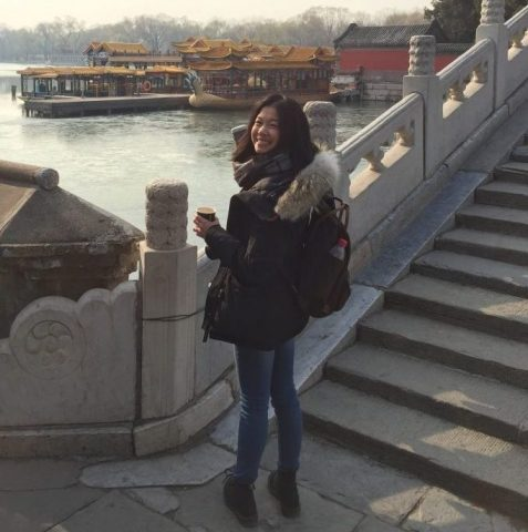 Winkie at the Summer Palace in Beijing