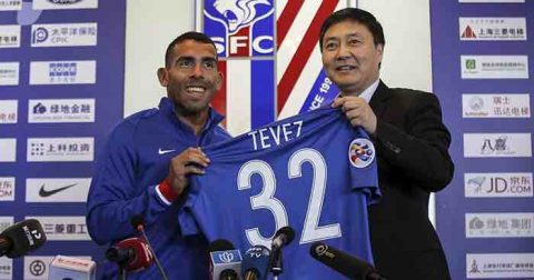 Carlos Tevez - Huge money, massive flop (in China)