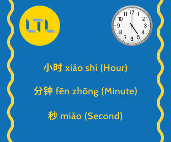 Time in China - Useful Vocab