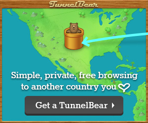 VPN into China - Tunnellbear