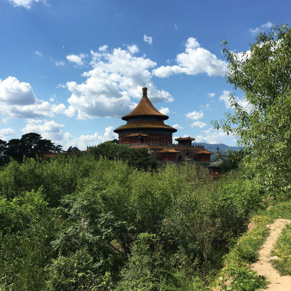 Pagoda in Chengde, China
