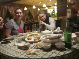 Enjoying Chinese Food in Beijing
