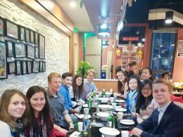 Enjoying Chinese HotPot in Beijing