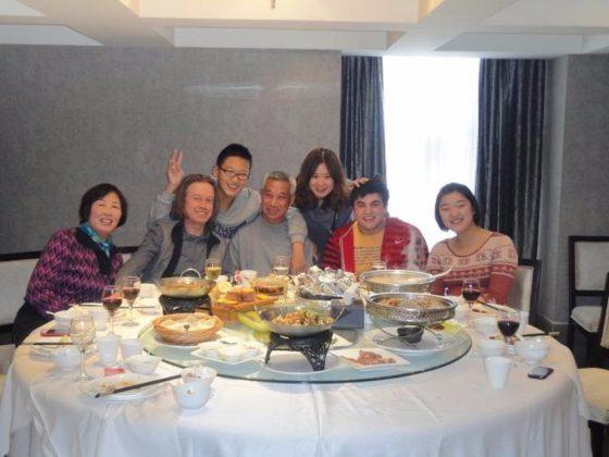 Group dinner in Chengde