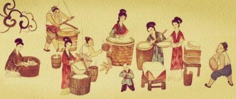 Ancient Tofu Making