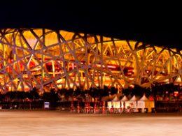 Birds Nest Stadium in Beijing