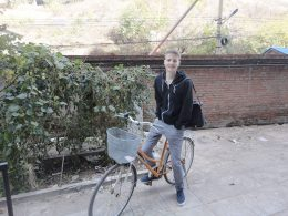 On the way to a lesson in Chengde