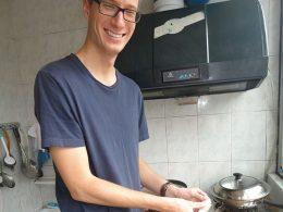 Making Dumplings (饺子) at the Homestay household