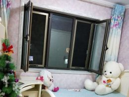 A typical bedroom at a Chengde Homestay