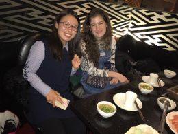 Savannah enjoying immersion in China