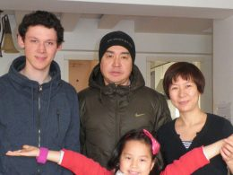 Our Homestay Family in Beijing