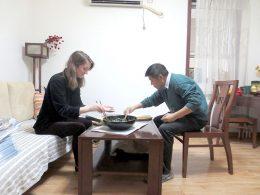 Sharing Dinner at a Chengde Homestay