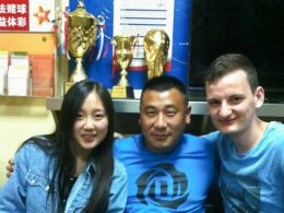 Students and staff in Chengde