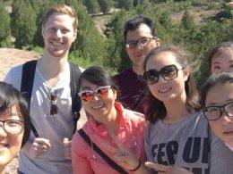 LTL students and staff enjoy a day trip