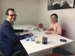Enjoying Mandarin Class in Shanghai