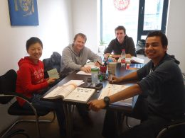 Mandarin class in Beijing