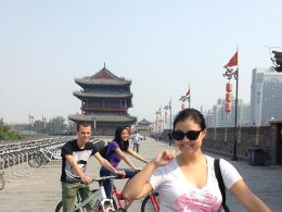 Cycling the streets of China