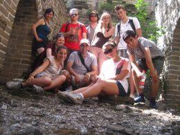 LTL students exploring China
