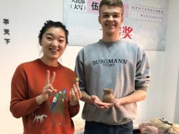 Pottery class in Chengde